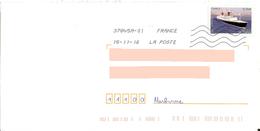 Timbre 0.76€ Les Années 60 Paquebot France Mer Toshiba 37845A-01 - Barcos