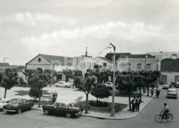 50s REAL PHOTO FOTO POSTCARD SALVATERRA DE MAGOS RIBATEJO PORTUGAL CARTE POSTAL OPEL BORGWARD ISABELLA - Santarem