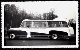 2 VIEILLES PHOTOS BRUXELLES *** GENERALCAR - BUS - AUTOBUS *** Années ´30 - Bus & Autocars