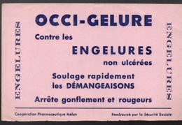 Buvard Occi-Gelure Contre Les Engelures Non Ulcérées Soulage Rapidement Les Démangeaisons Arrête Gonflement Et Rougeurs - Produits Pharmaceutiques