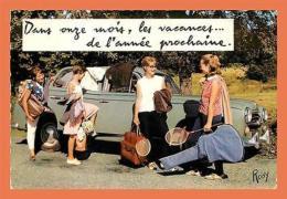 A539 / 229 Dans Onze Mois Les Vacances De L'année Prochaine ( Voiture ) - Postcards
