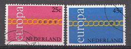 Pays-Bas 1971 Mi.nr: 963-964 Europa  Oblitérés / Used / Gestempeld - Period 1949-1980 (Juliana)