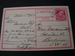 Bozen Karte Berlin1919 - Enteros Postales