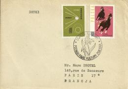 Polska 1964 Poznan >> Paris F - Lettres & Documents