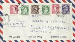 Canada 1958 MPO 502 Claresholm Alta. >> Stolberg D