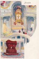 Paris France, Napoleon I Tomb, Les Invalides, Artist Image, C1900s Vintage Postcard - France