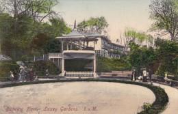 Laxey Gardesn Isle Of Man Great Britain, Outdoor Dancing Floor, C1900s Vintage Postcard - Isola Di Man (dell'uomo)