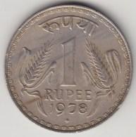 @Y@    India   1 Rupee   1978     (3876) - India