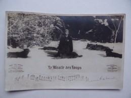 """""""Le MIRACLE Des LOUPS"""" FILM D'après Le Roman De H. DUPUIS MAZUEL Partition Musicale De H.Rabaud Edit Max ESCHIG - Teatro"""