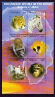 TANZANIA   1630G MINT NEVER HINGED MINI SHEET OF WILDLIFE & ANIMALS - Timbres