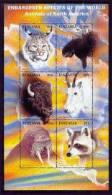 TANZANIA   1630  MINT NEVER HINGED MINI SHEET OF WILDLIFE & ANIMALS   # M-1247-1 ( - Timbres