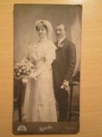 CDV Cabinet Card Photo By Lembert Ede , Nagyvarad , Oradea , Romania - Personnes Anonymes