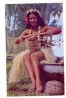 POLYNESIE FRANCAISE / FRANZ. POLYNESIEN - Tahitian Dancer, Ethnic / Völkerkunde - Französisch-Polynesien