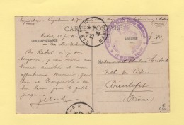 Rabat - Subdivision De Rabat - Tresor Et Postes Rabat - 24-7-1916 - Morocco (1891-1956)