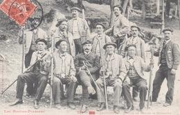 Les Hautes Pyrénées - 729 Bis - Cauterets - Groupe De Guides De Montagne ( Gros Plan ) - Cauterets