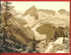 Grande PHOTO  Les ALPES - Estampillée Photo GIET - Les Contamines MONTJOIE - Haute Savoie - Lieux