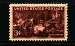 UNITED STATES/USA - 1947   THE DOCTOR  PAINTING  MINT NH - United States