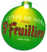 Belgique St Feuillien Thème Noël - Bierdeckel