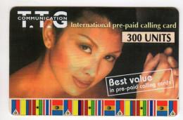 PHILIPPINES Recharge TTG Communication 300 U Non Gratté Date 2001 - Philippines