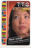 PHILIPPINES Recharge TTG Communication 500 U Non Gratté Date 2001 - Philippines