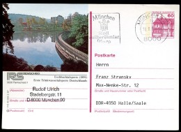 BUND P138 R1/5 Bild-Postkarte REMSCHEID TALSPERRE Gebraucht München 1987