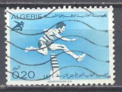 Algérie YT N°532 Jeux Sportifs Méditerrannéens Oblitéré ° - Algeria (1962-...)