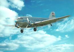 AIRPLANE * AEROPLANE * AIRCRAFT * LISUNOV LI-2 * HUNGARIAN AIRLINES * MALEV * Reg Volt 0038 * Hungary - 1946-....: Moderne