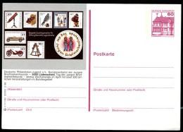 BUND P138 S11/162 Bild-Postkarte LÜDENSCHEID PHILATELISTEN-JUGEND ** 1988 - Francobolli Su Francobolli
