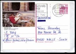 BUND P138 S12/187 Bild-Postkarte BAYREUTH EREMITAGE Als Brief-Drucksache 1992 - [7] République Fédérale