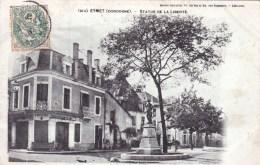 24 - Dordogne - Eymet -  Statue De La Liberté ( Boucherie Lajaunie ) - Autres Communes