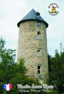 Carte Postale, Moulin A Vent, Windmills Encyclopedia, France (Ille-et-Vilaine), Guipry, Moulin Sainte Marie - Moulins à Vent
