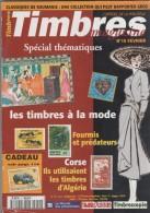 TIMBRES MAGAZINE - CORSE TIMBRES D ALGERIE, ROUMANIE CLASSIQUE, LES FOURMIS ET PREDATEURS, GABON ET CONGO............... - Français (àpd. 1941)