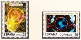 ESPAGNE - 1990 - Noël - Yvert 2696/2697 Neufs ** - 1981-90 Nuovi