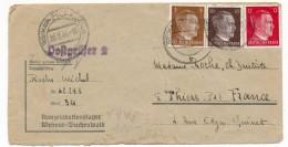 ALLEMAGNE - Lettre Depuis WEIMAR-BUCHENWALD - Déporté Politique Français - 1944 - Germania