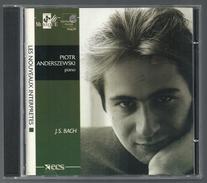 CD PIANO - BACH : SUITE FRANCAISE / OUVERTURE DANS LE STYLE FRANCAIS - PIOTR ANDERSZEWSKI, Piano - Klassik