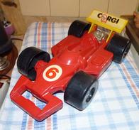 VOITURE CORGI - 1986 Formule 1 VALISE DE TRANSPORT Pour 9 + 1 Petites Voitures - Accessori