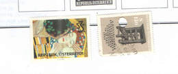 Austria Vari Stamps Klimt+ 1964 In Pages Scott.727+740+ See Scan. - 1945-.... 2a Repubblica