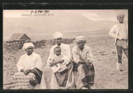 AK St. Vincent, Peasants, Afrikanische Bauern - Cap Verde