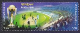 BANGLADESH 2015 MNH - ICC Cricket World Cup, Sports Trophy - Cricket