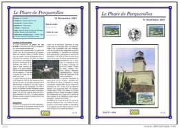 Planche Album Expo : France 2007 : 4116 Phare De Porquerolles - Afgedrukte Pagina's