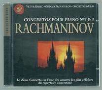 CD PIANO - RACHMANINOV - CONCERTOS POUR PIANO N° 2 & 3 - VICTOR ERESKO, Piano - Klassik