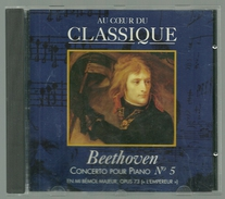CD PIANO - BEETHOVEN : CONCERTO POUR PIANO N° 5 - ALFRED BRENDEL, Piano - Klassik