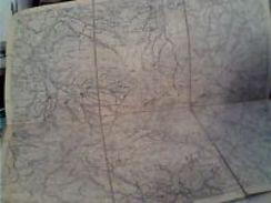 CARTA CARTINA TOPOGRAFICA APPENNINO REGGIANO PARMENSE COLLAGNA RAMISETO POVIGLIO  FORNOLO  MISCOSO  1/25000 Ante 1930 - Carte Topografiche