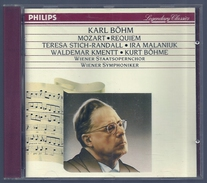 CD  -  MOZART : REQUIEM -  KARL BÖHM, Chef D'orchestre - Klassik