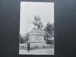 Österreich 1915 Feldpostkarte Feldpostamt 57 AK Lemberg - Sobieski Denkmal. Regiment Freiherr Von Bolfras - 1850-1918 Imperium