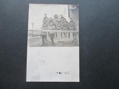 Österreich AK 1914 Soldaten Im Krieg In Tschechien Pardubice. Kompagnie. Echtfoto - 1850-1918 Imperium