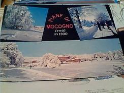 2 CARD  PIANE DI MOCOGNO SOGGIORNO MONTANO  CAMPI SCI SCIATORE   MODENA  VB1972/80 FU8133 - Carpi