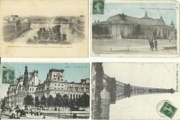 FRANCE  PARIS  Lot 44 CPA - Cartoline