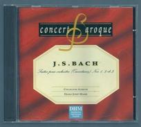 CD CLASSIQUE - CONCERT BAROQUE : SUITES DE BACH - Klassik