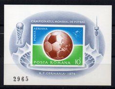 Hb114  Sin Dentar Germania 1974 - Copa Mundial